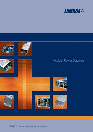 Modular Power Supplies - Fibat