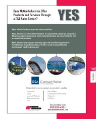 Does Motion Industries Offer Products and Services Through a GSA ...