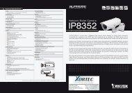 Datasheet (PDF) - Xortec.de