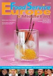 Top 22 Restaurant Groups Switzerland - Food Service Europe