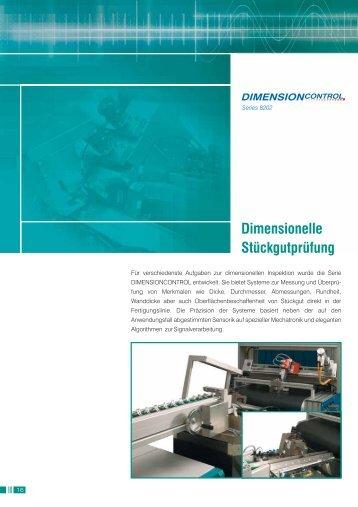 Dimensionelle Stückgutprüfung - Micro-Epsilon Messtechnik GmbH ...