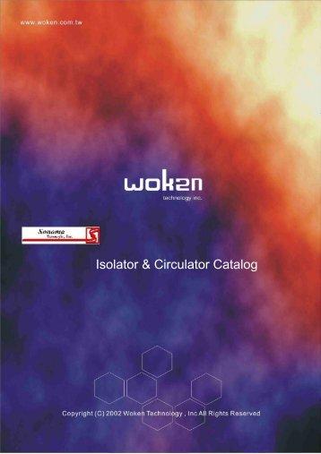 Isolator & Circulator Catalog