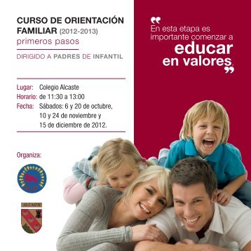educar en valores - Colegio Alcaste