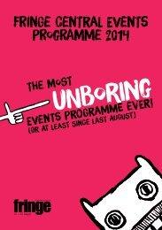 FringeCentralProgramme2014
