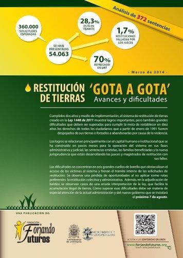 publicacion-restitucion-de-tierras-gota-a-gota_372-sentencias_marzo-2014-fundacion-forjando-futuros