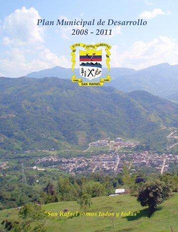 Descargar el plan Plan de Desarrollo Municipal 2008 ... - San Rafael