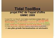 Tidal ToolBox - Mercator Océan