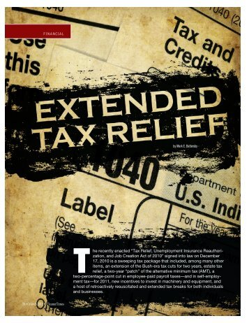Extended Tax Relief (March 2011) - Cleaner Times