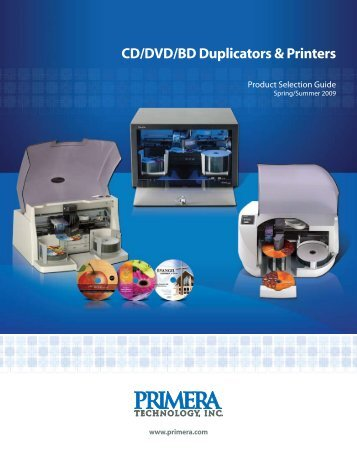 CD/DVD/BD Duplicators & Printers - Srdinfotech.com