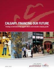 Calgary: FinanCing our Future - Calgary Economic Development