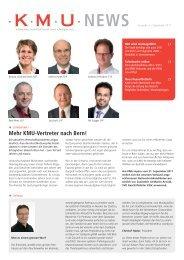 Ausgabe Herbst 2011 - KMU Verband Winterthur und Umgebung