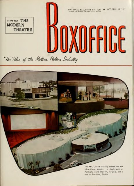 Boxoffice October251971
