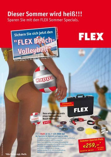 """FLEX Beach- Volleyball*"