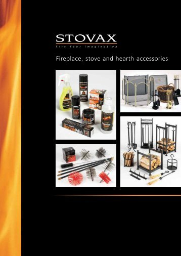 Fireplace, stove and hearth accessories - Brochures - Stovax