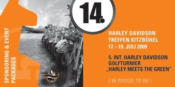 Harley Davidson Treffen in Kitzbühel
