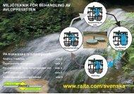 miljöteknik för behandling av avloppsvatten - Raita Environment
