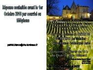 Voir la plaquette - UMFCS Bordeaux Segalen