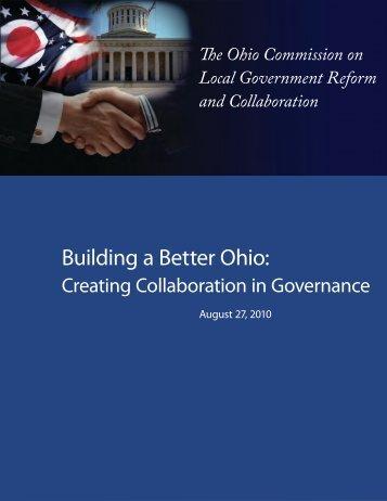 Building a Better Ohio: - Mid-Ohio Regional Planning Commission