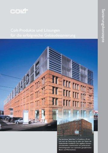 Download Leaflet Sanierungskonzepte - Colt International GmbH ...