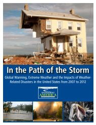 In the Path of the Storm - Environment America