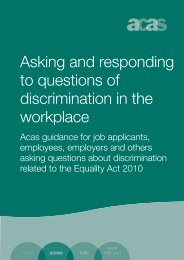 Asking and responding to questions of discrimination in the workplace