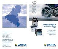 Toepassingen - VARTA Automotive PartnerNet