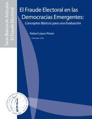 El Fraude Electoral en las Democracias Emergentes: - IFES