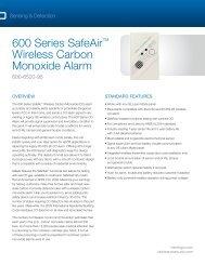 Data Sheet -- M5 Enclosure for Picture Perfect & Secure ... - Interlogix