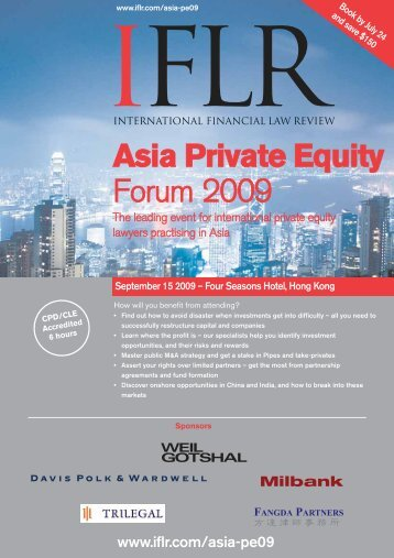 Asia Private Equity Forum 2009 - International Tax Review
