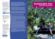 Sustainable Use - IUCN Knowledge Network