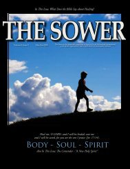 Body - Soul - Spirit - Spirit & Truth Fellowship International