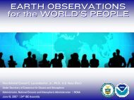 Earth Observation Systems - NOAA