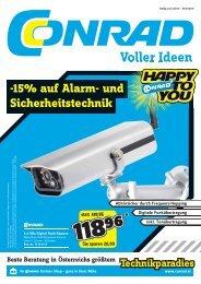 -15% auf Alarm- und Sicherheitstechnik