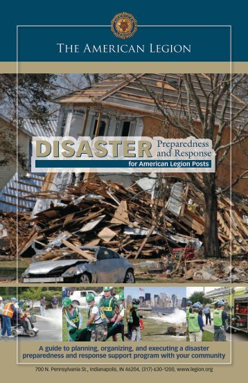 Disaster Preparedness and Response for American Legion Posts