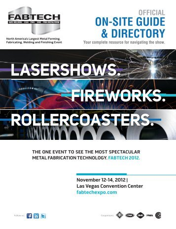 2012 Show Directory - Fabtech