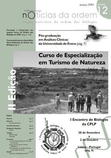 Março 2004 - Ordem dos Biólogos