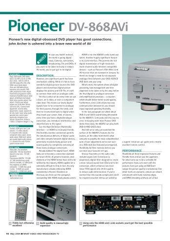 Pioneer DV-868AVi - Laserdisken