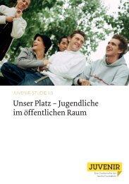 Unser Platz – Jugendliche im öffentlichen Raum - Jacobs Foundation