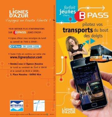 Brochure Jeunes.pdf - Lignes d'azur