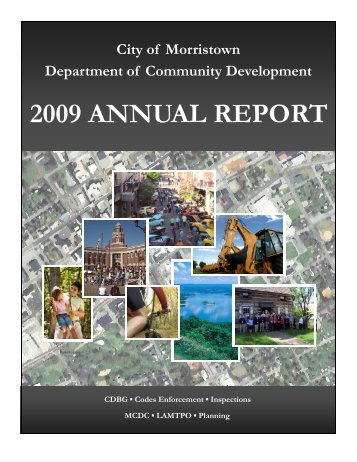 2009 Annual Report - MyMorristown
