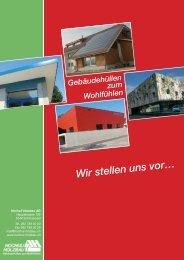 Download Firmenportrait - Hochuli Holzbau AG