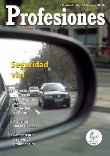 Seguridad vial Seguridad vial - Revista Profesiones