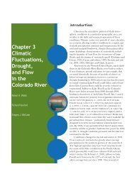 Climatic Fluctuations, Drought, and Flow in the Colorado River