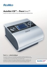 ResMed AutoSet CS™ - PaceWave - TNI medical AG