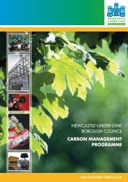 Carbon Management Programme - Newcastle-under-Lyme Borough ...