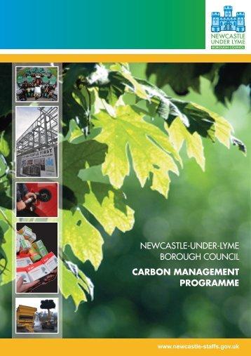 Carbon Management Programme - Newcastle-under-Lyme Borough ...