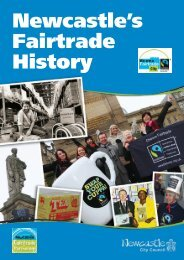 Newcastle's Fairtrade History - Newcastle City Council