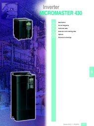 Inverter MICROMASTER 430