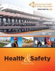 IHSA Monthly Magazine - Infrastructure Health & Safety Association