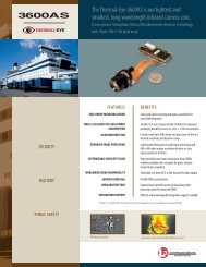 Thermal-Eye 3600AS Brochure - L-3 Infrared Products